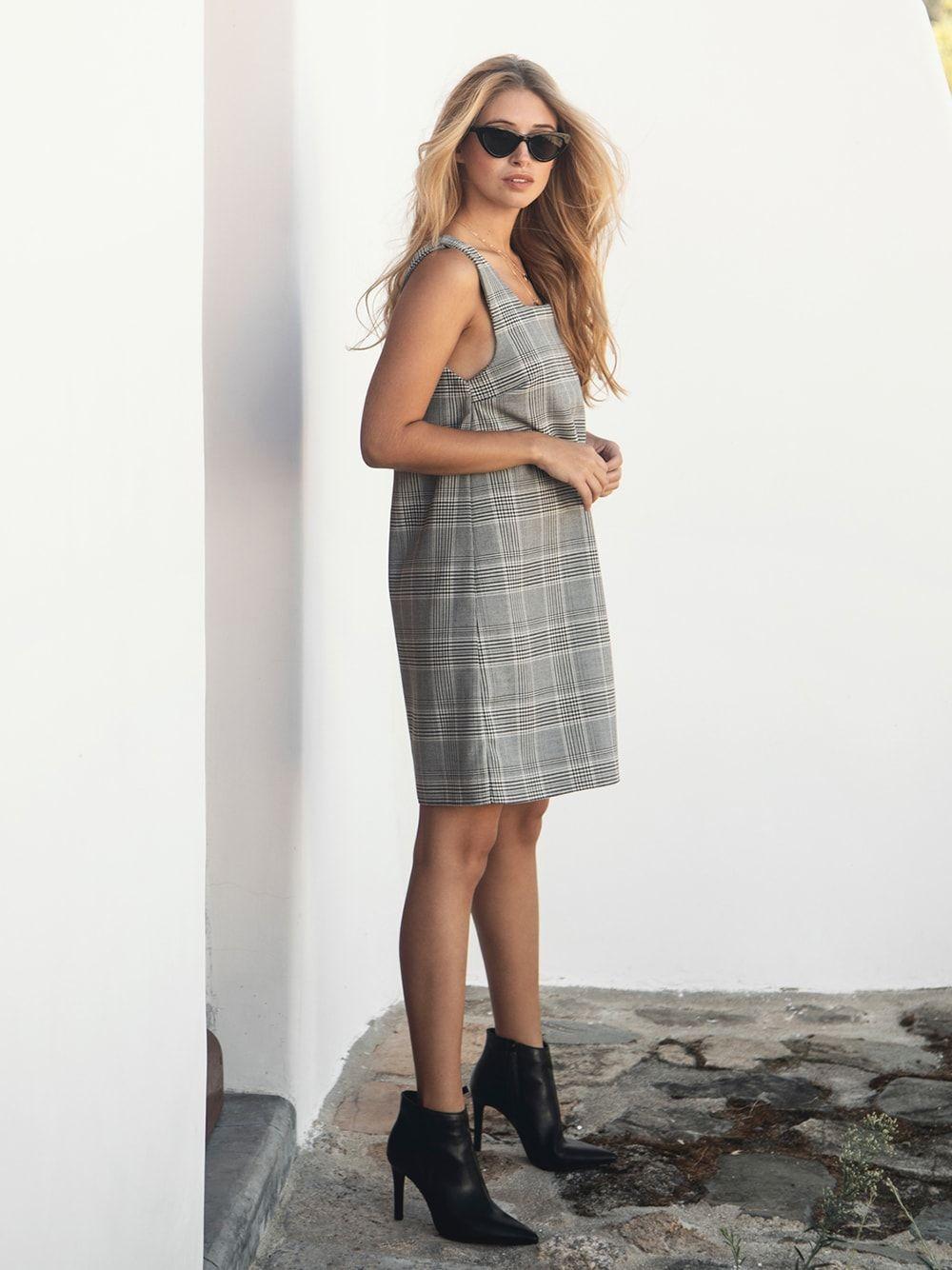 Chess Short Dress | Mauî