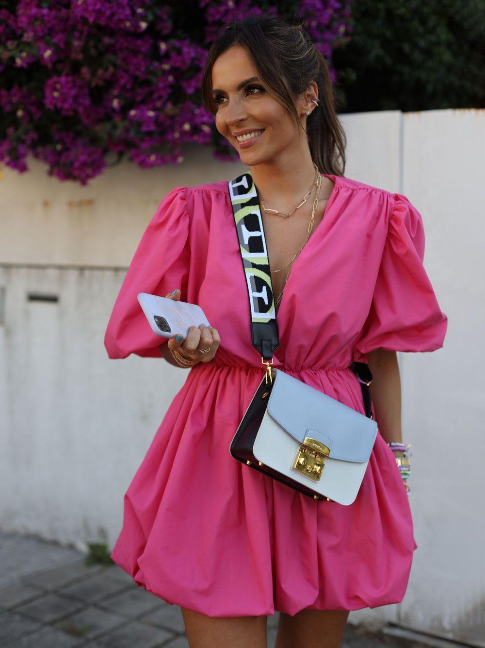 Vestido Rosa Popeline   Kaoâ
