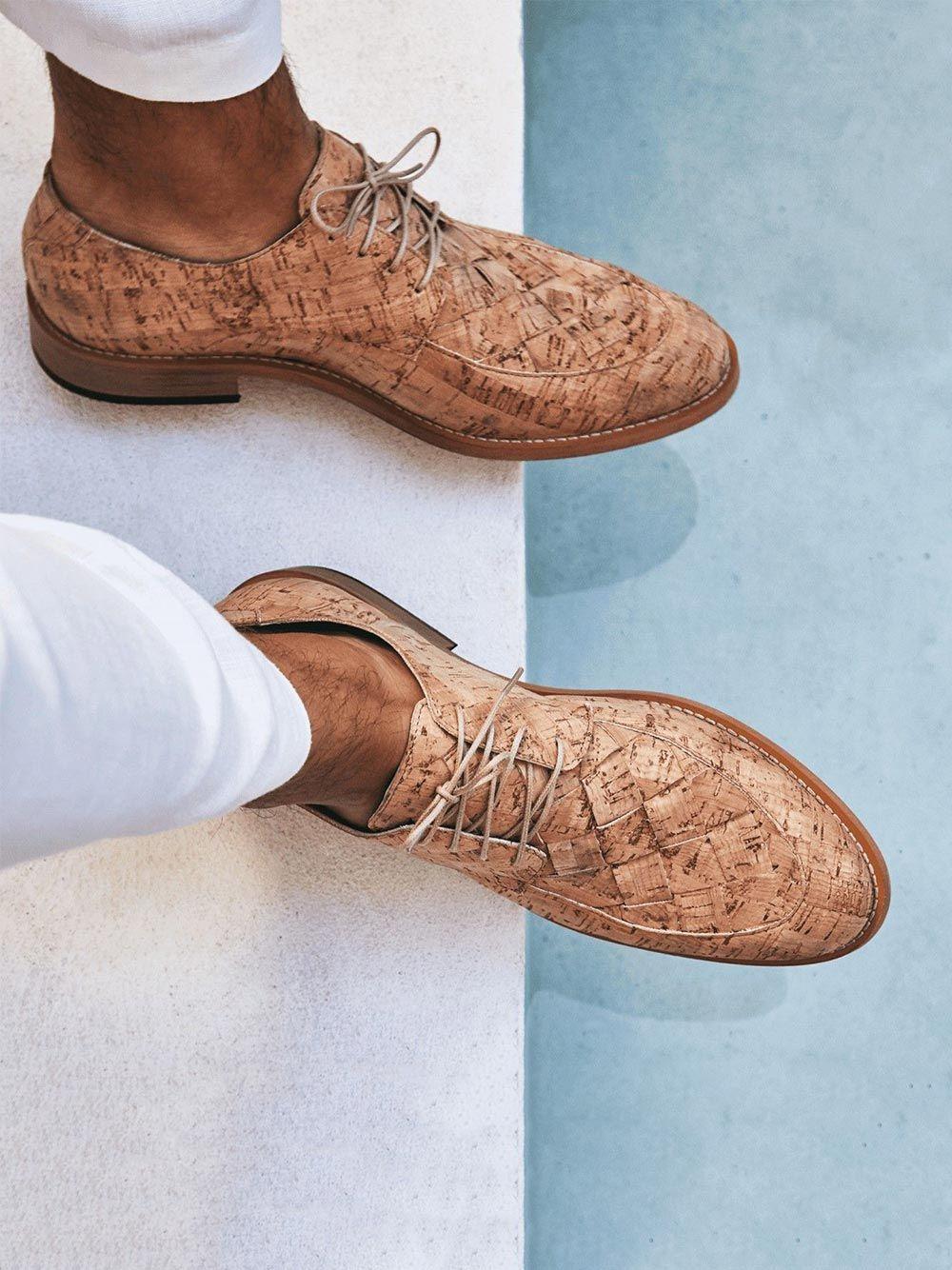 Sapatos Derby Cork Dante