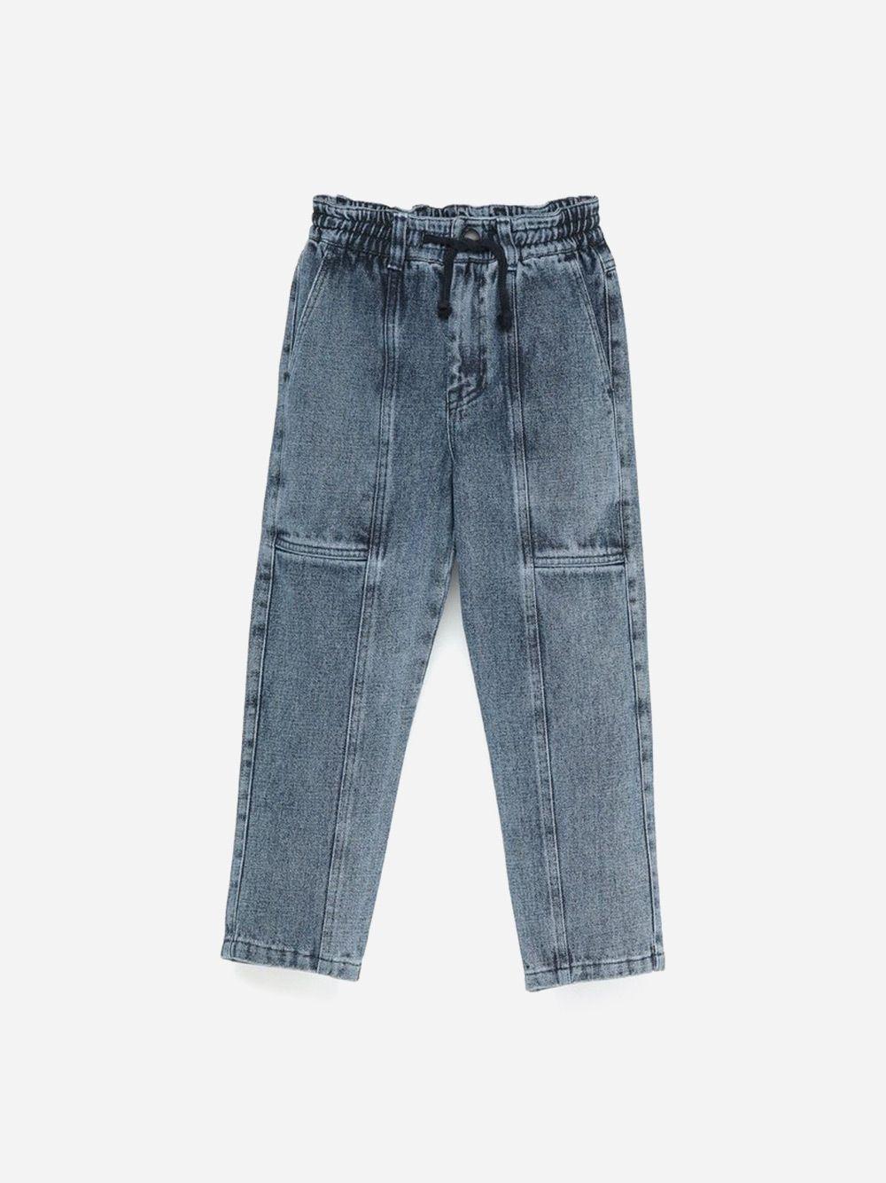 Denim Jogging Trousers Blue
