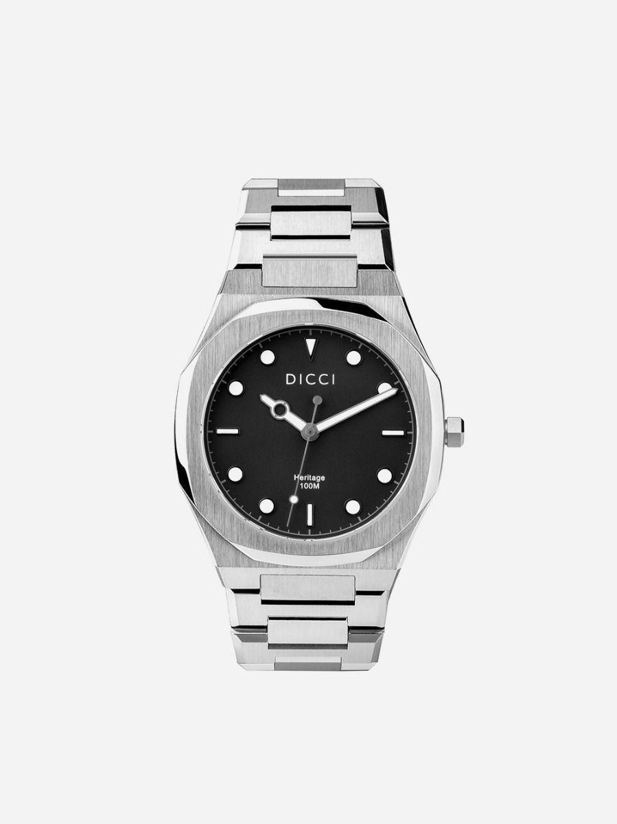 Relógio Preto Heritage | Dicci