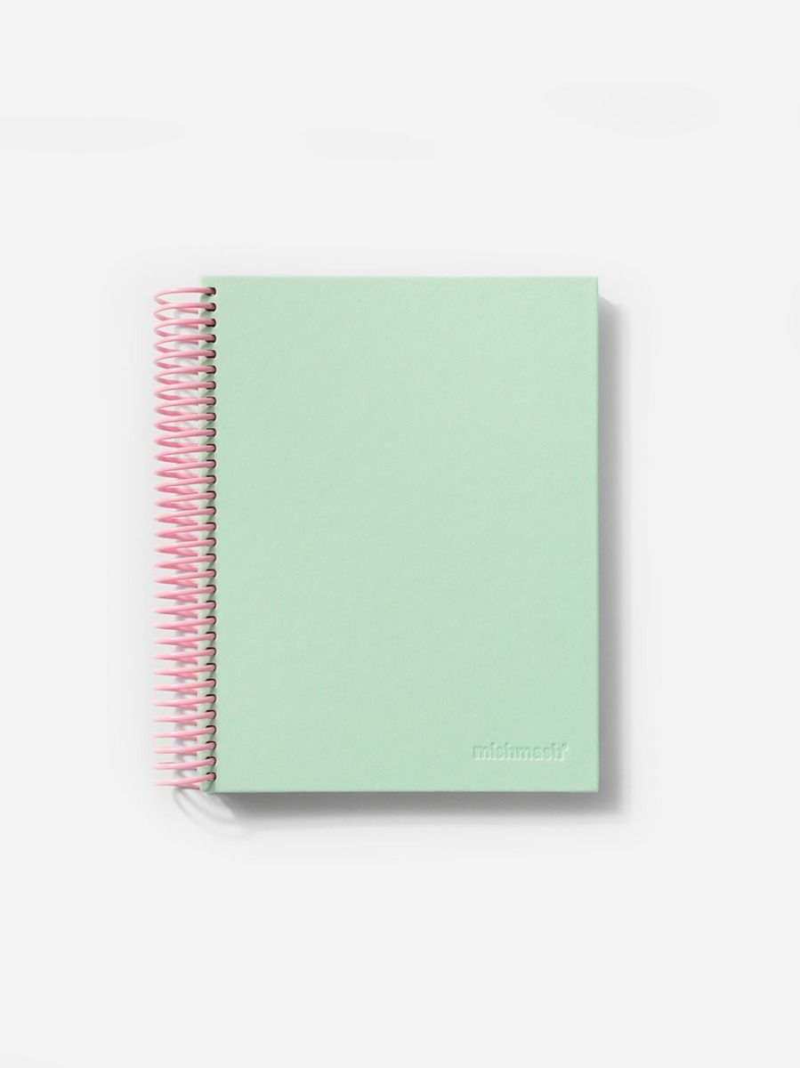 Easy Breezy Notebook Park Green   Mishmash