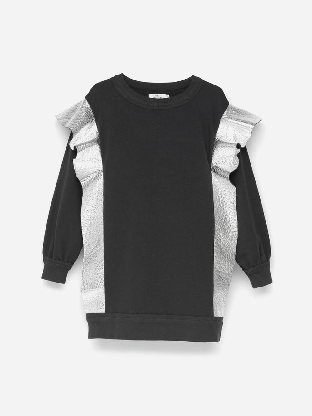 Embellished Sweaterdress Black