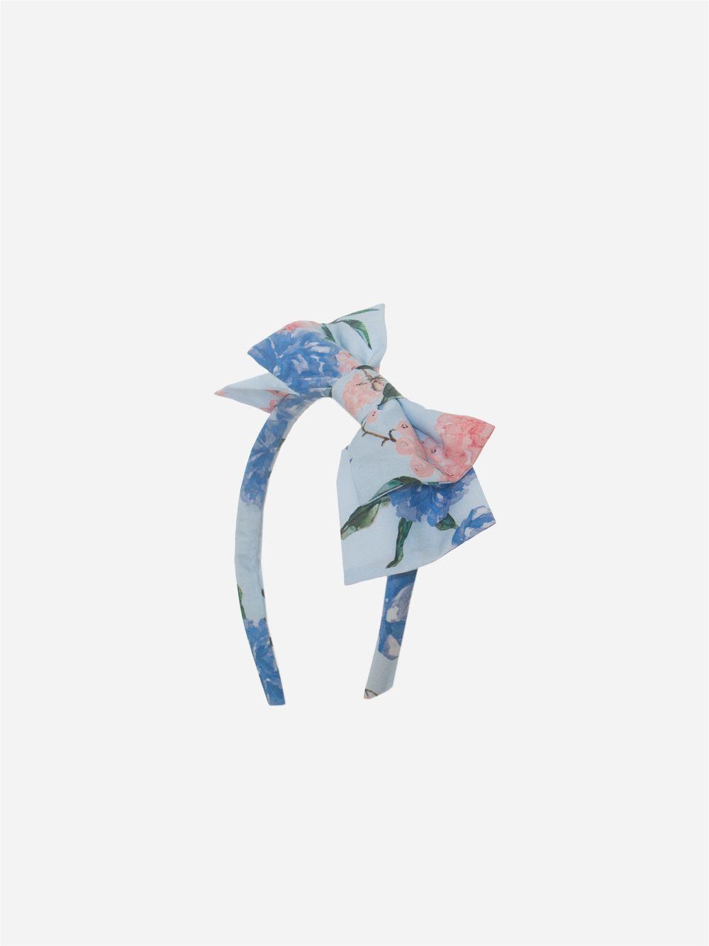 Bandolete Floral Azul