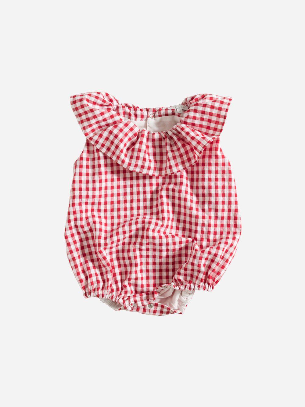 Fofo Quadros Vermelhos | Grace Baby and Child