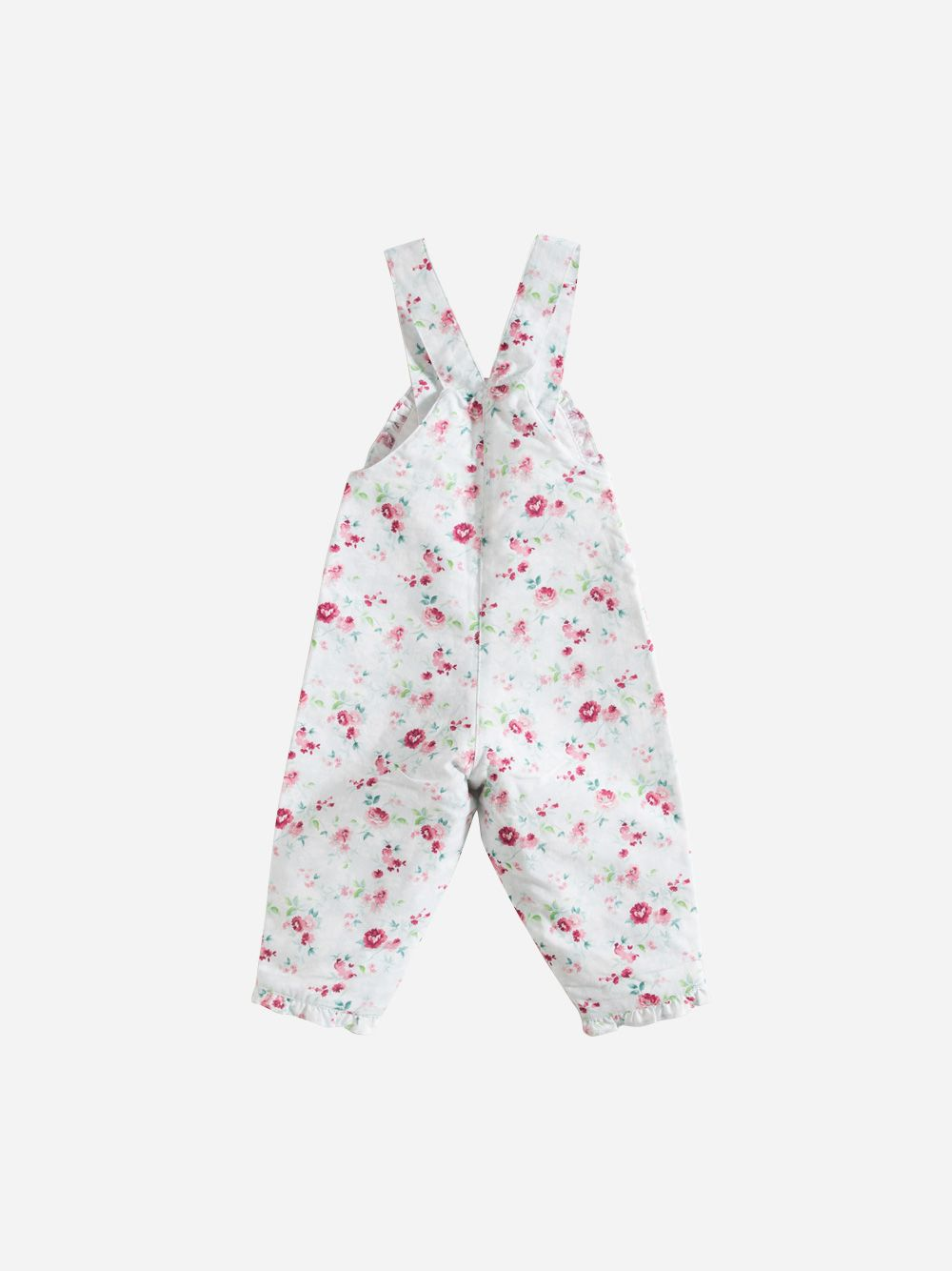 Jardineiras Flores Menta   Grace Baby and Child