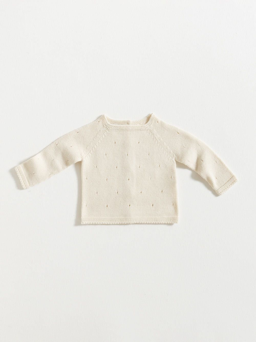 SWEATER / ECRU | Grace Baby and Child