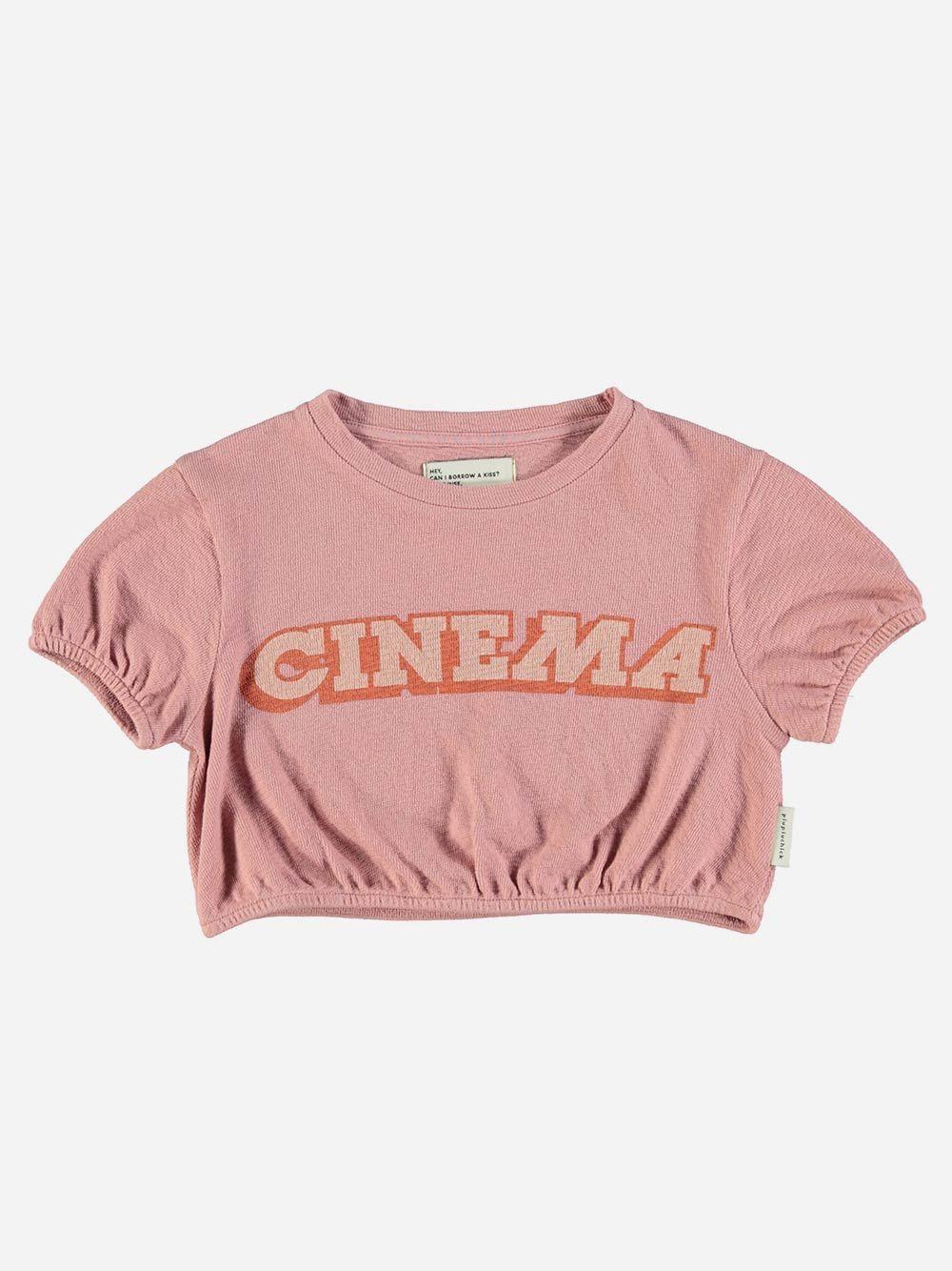 T-shirt Ballon Vintage Pink