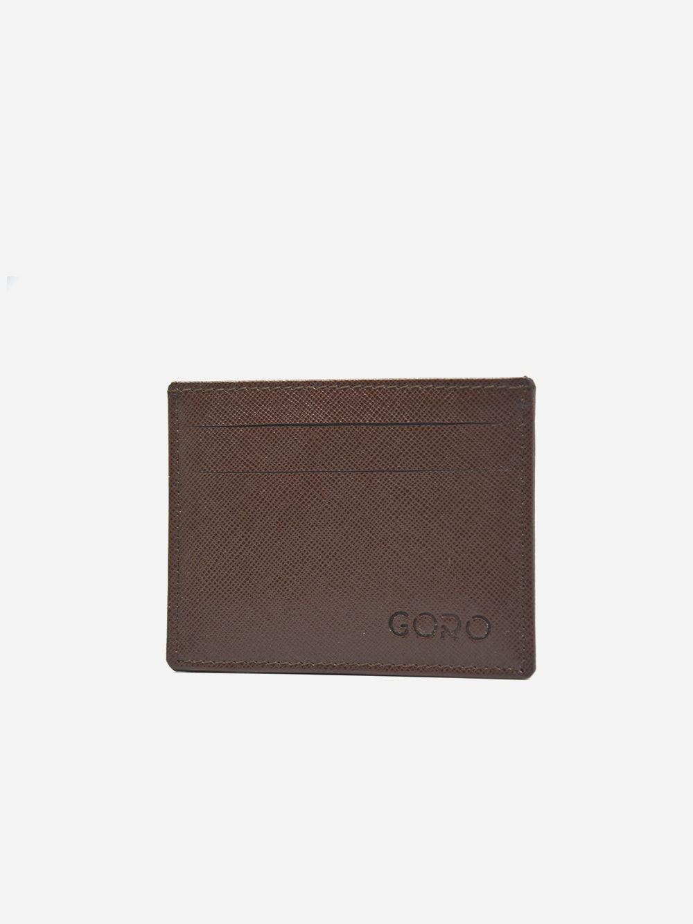Brown Card Holder Gordon | Goro
