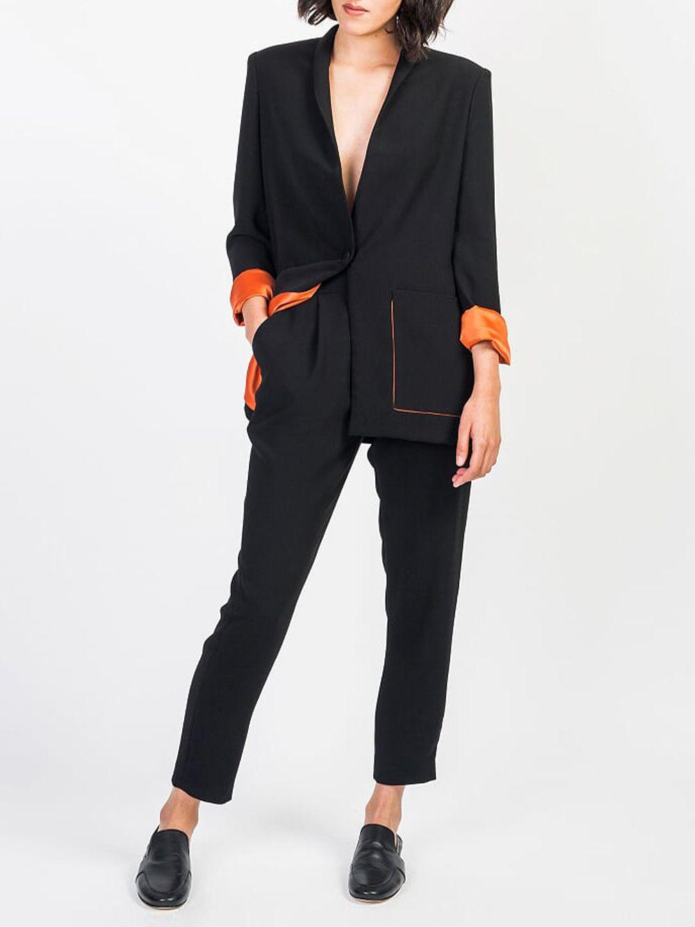 Blazer Vega Preto | Hyena Tailor Made