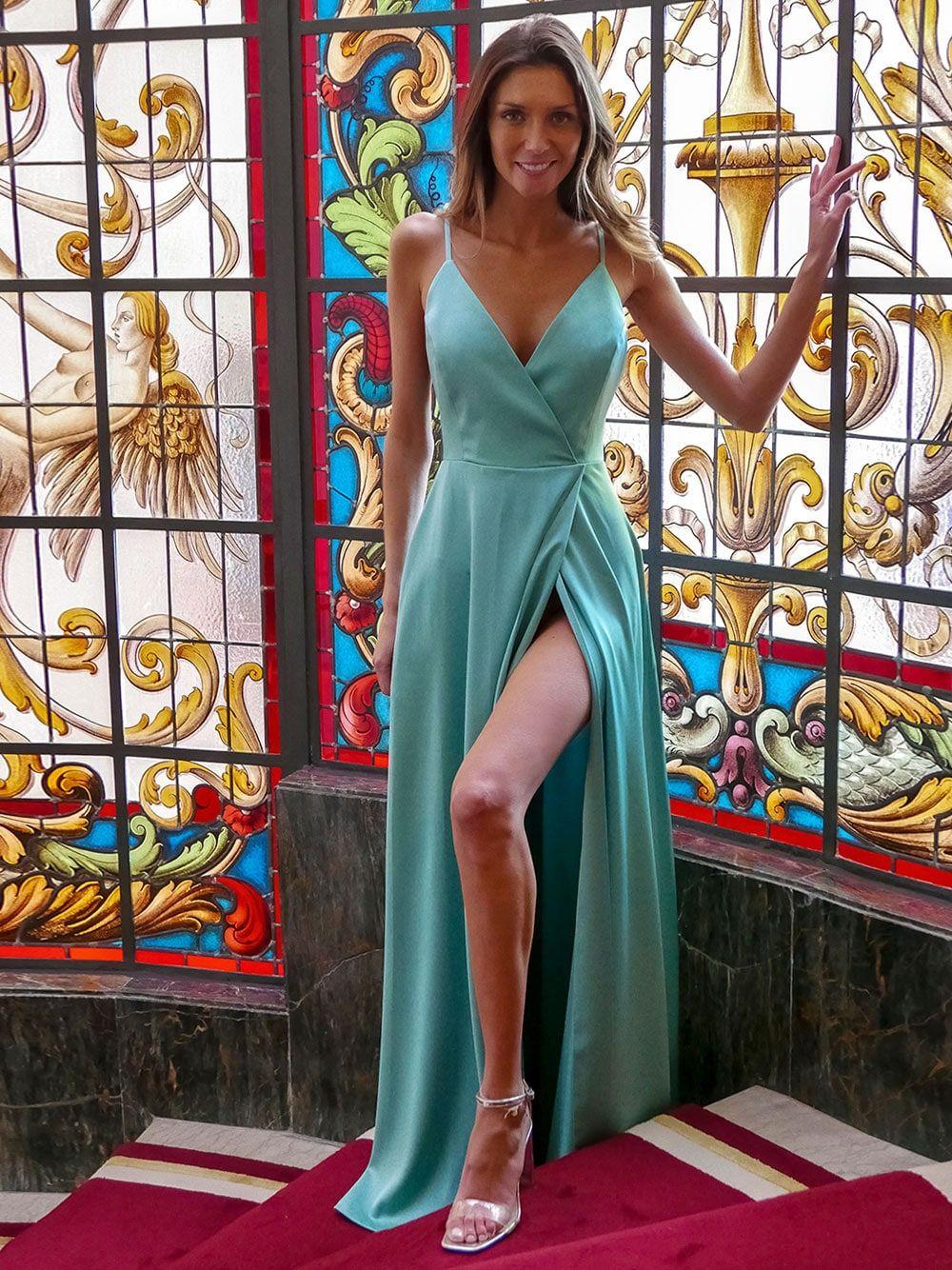 Vestido Verde Água | KAOÂ