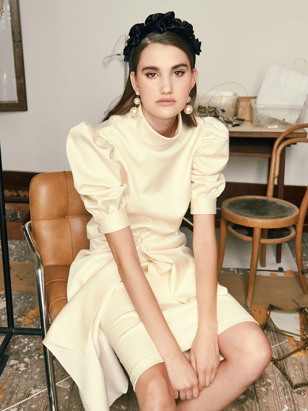 Enigmatic Sweater   Misses White