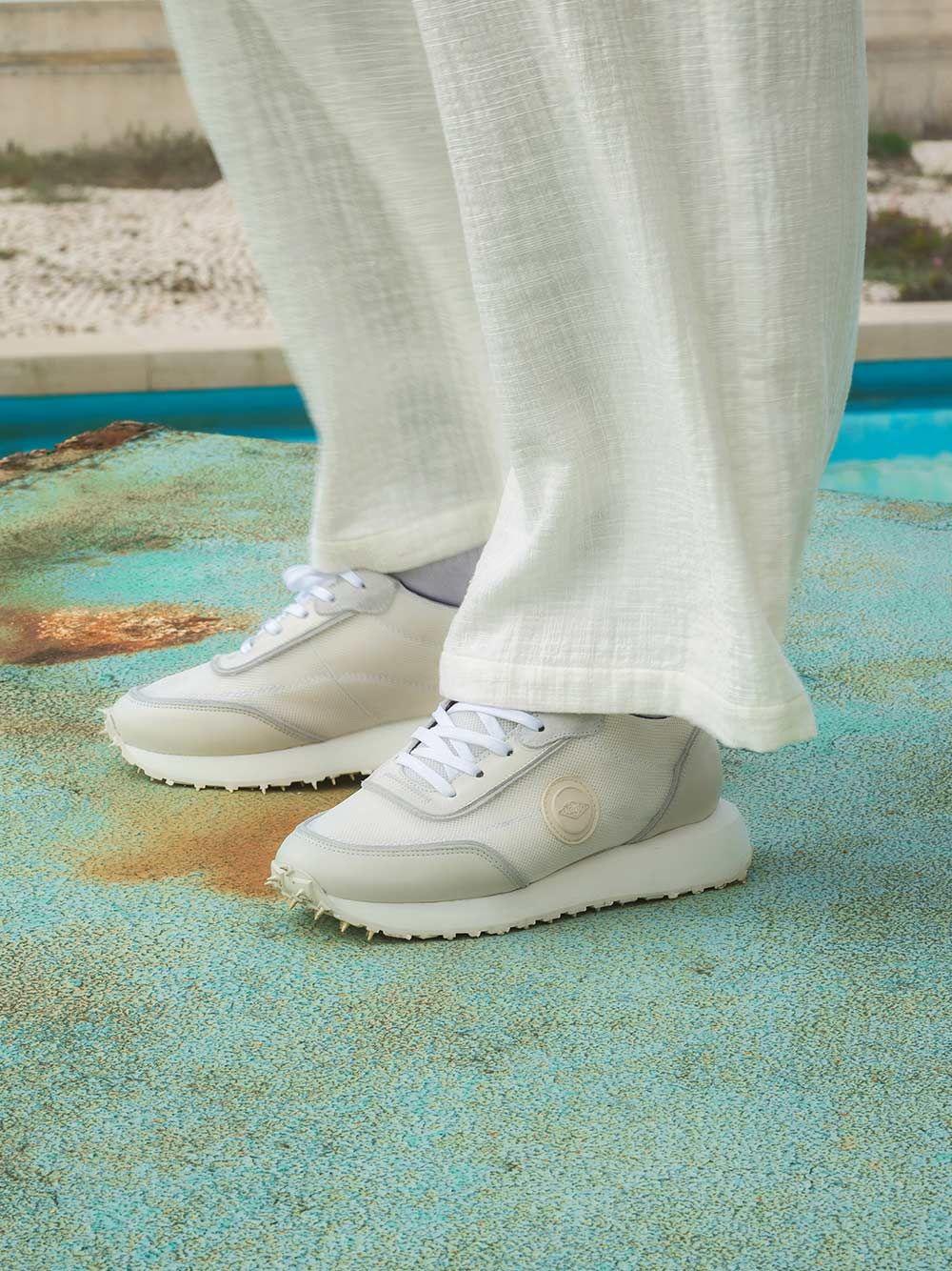 Sapatilhas Retro Runner Brancas