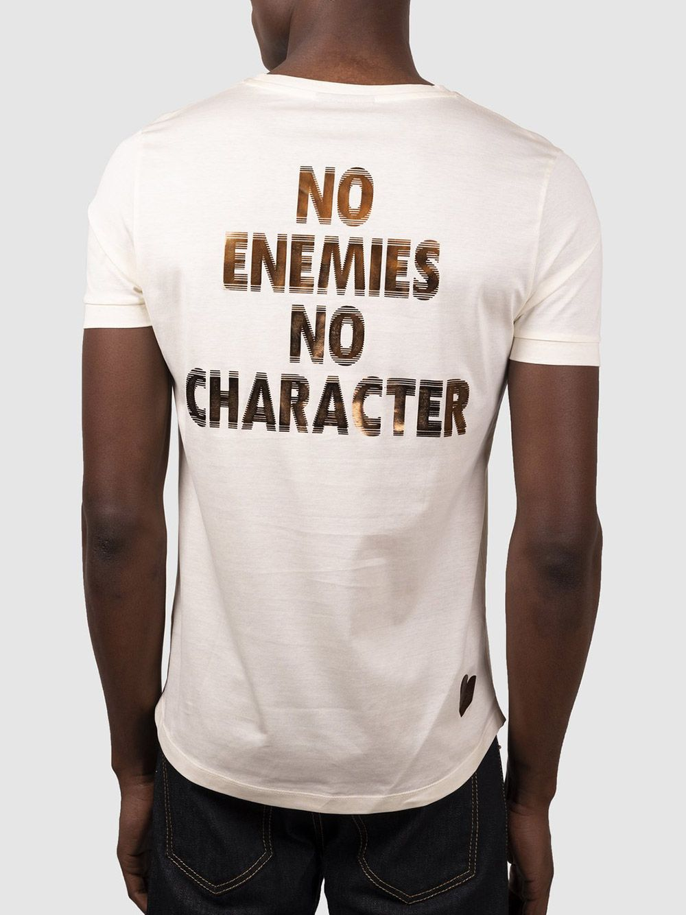 T-shirt Branco Foil Rockstar