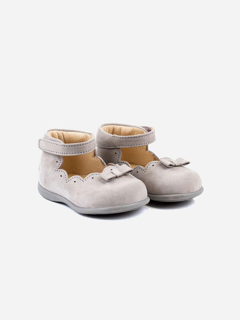 Sapato Sabrina Cinza Laço | Pikitri