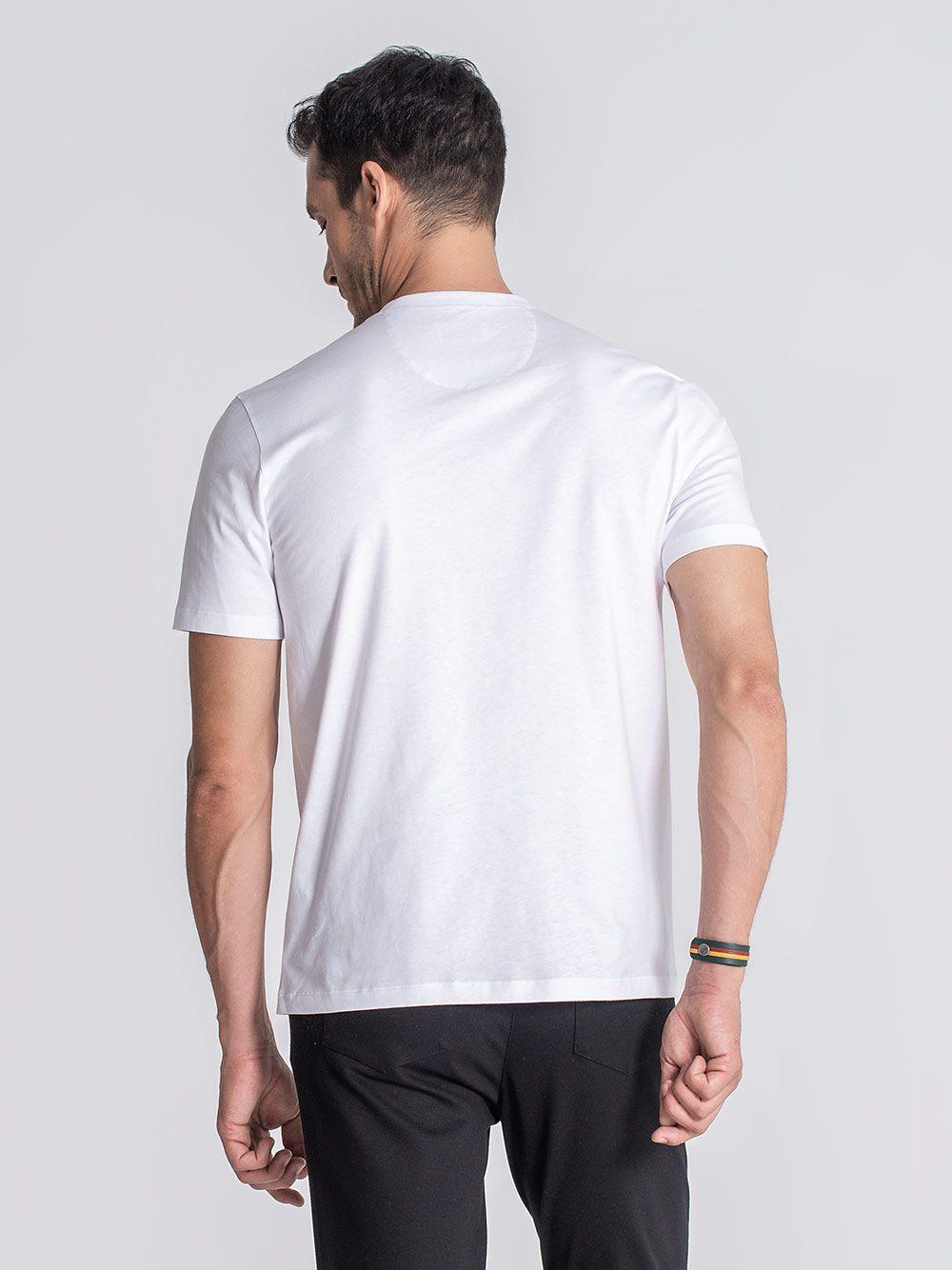 T-shirt Clinton Branco | JEF