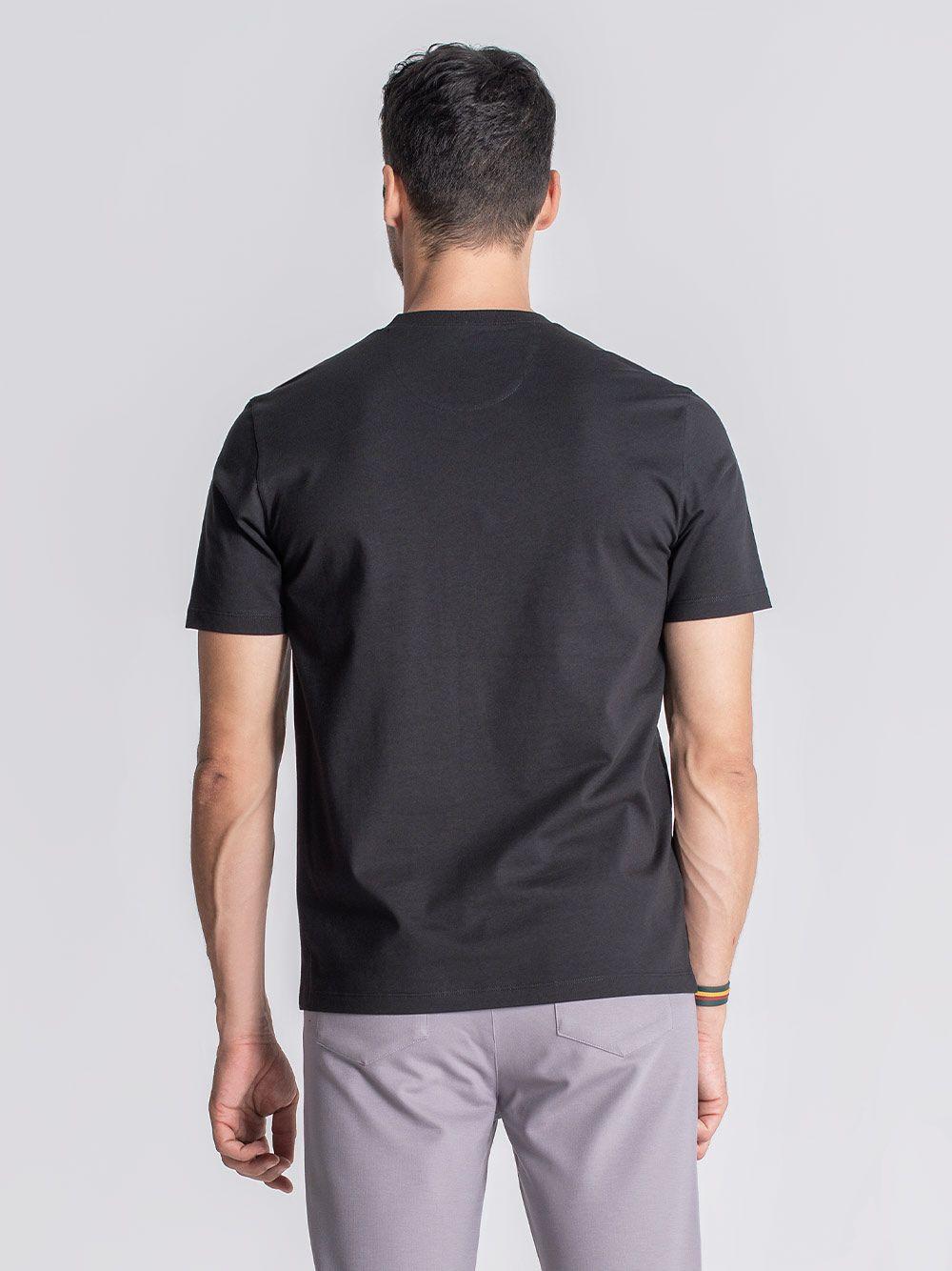 T-Shirt Clinton Preto  JEF