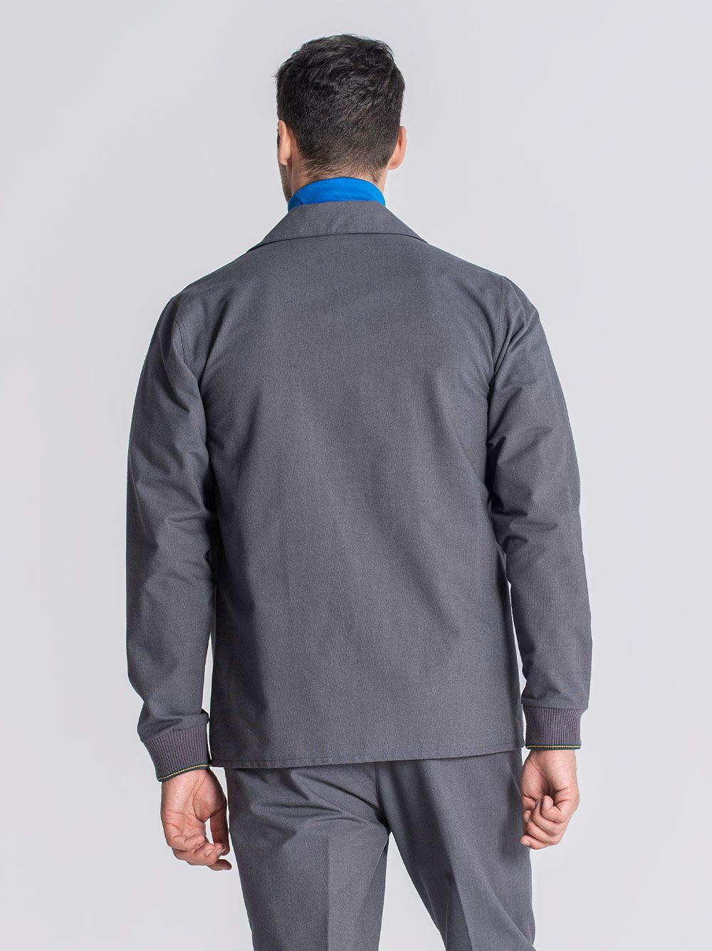 Camisa Coimbra Cinza Escuro | JEF