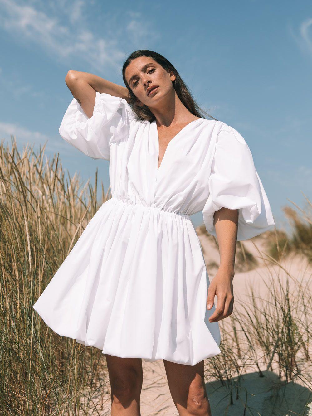 Vestido Branco Popeline | Kaoâ