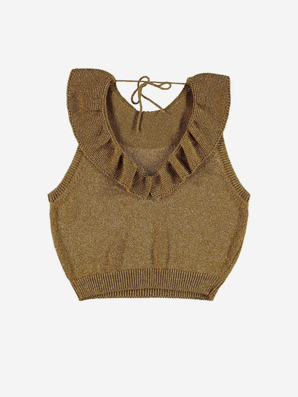 Knitted Top Golden