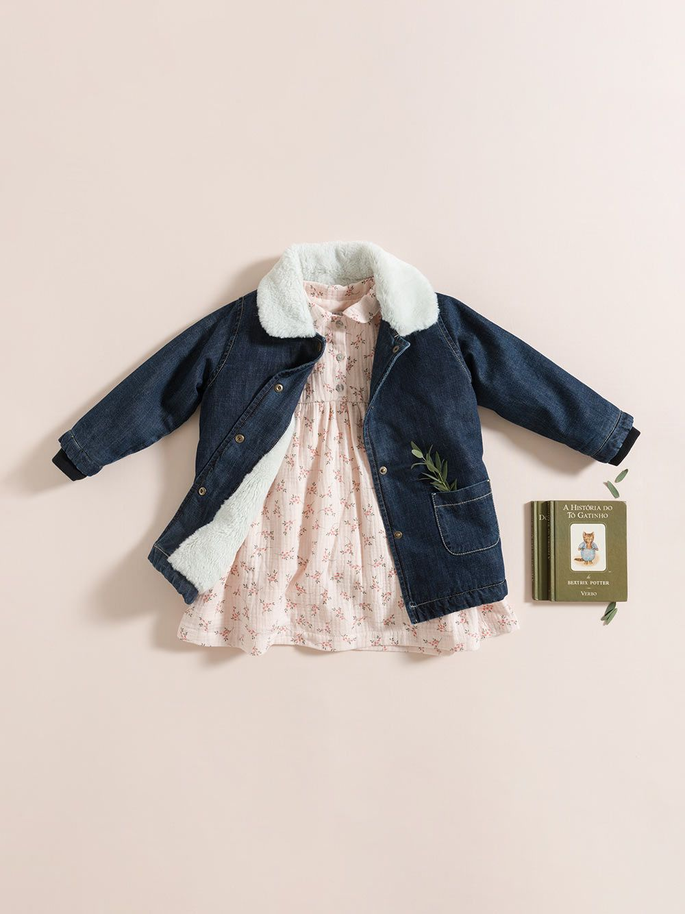 DRESS / PINK FLOWERS GAUZE | Grace Baby and Child