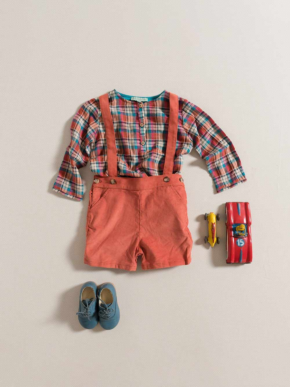 SHIRT / MULTICOLOR PLAID | Grace Baby and Child
