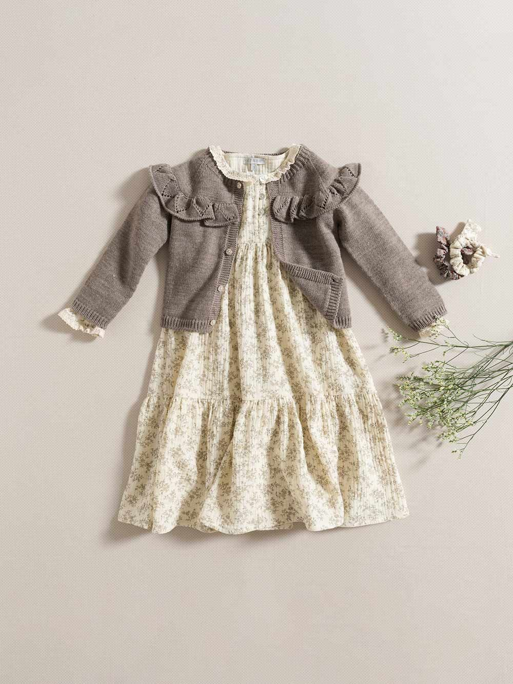 CARDIGAN / MAUVE | Grace Baby and Child