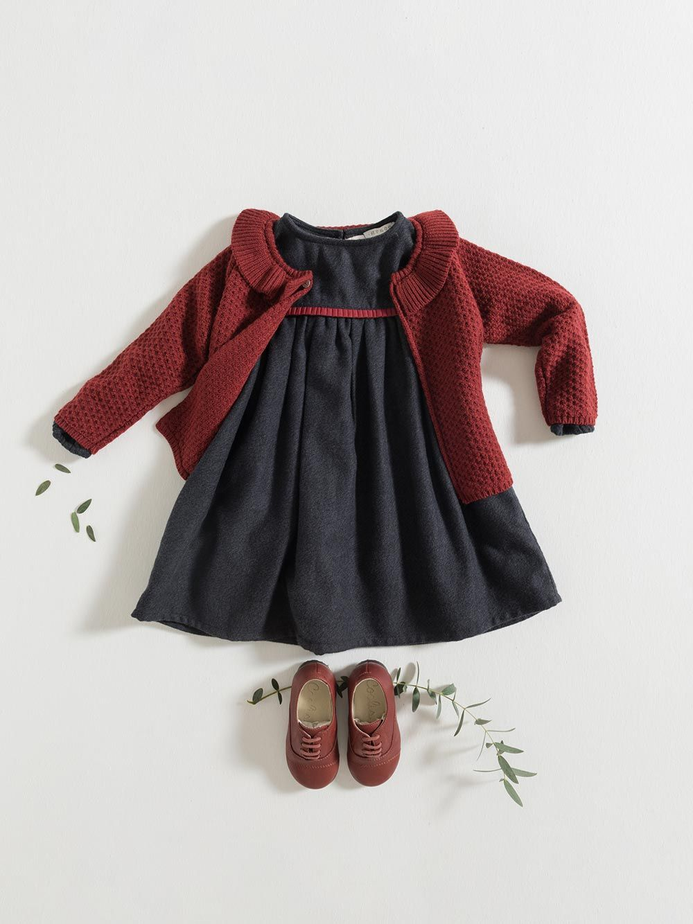 CARDIGAN / BURGUNDY | Grace Baby and Child
