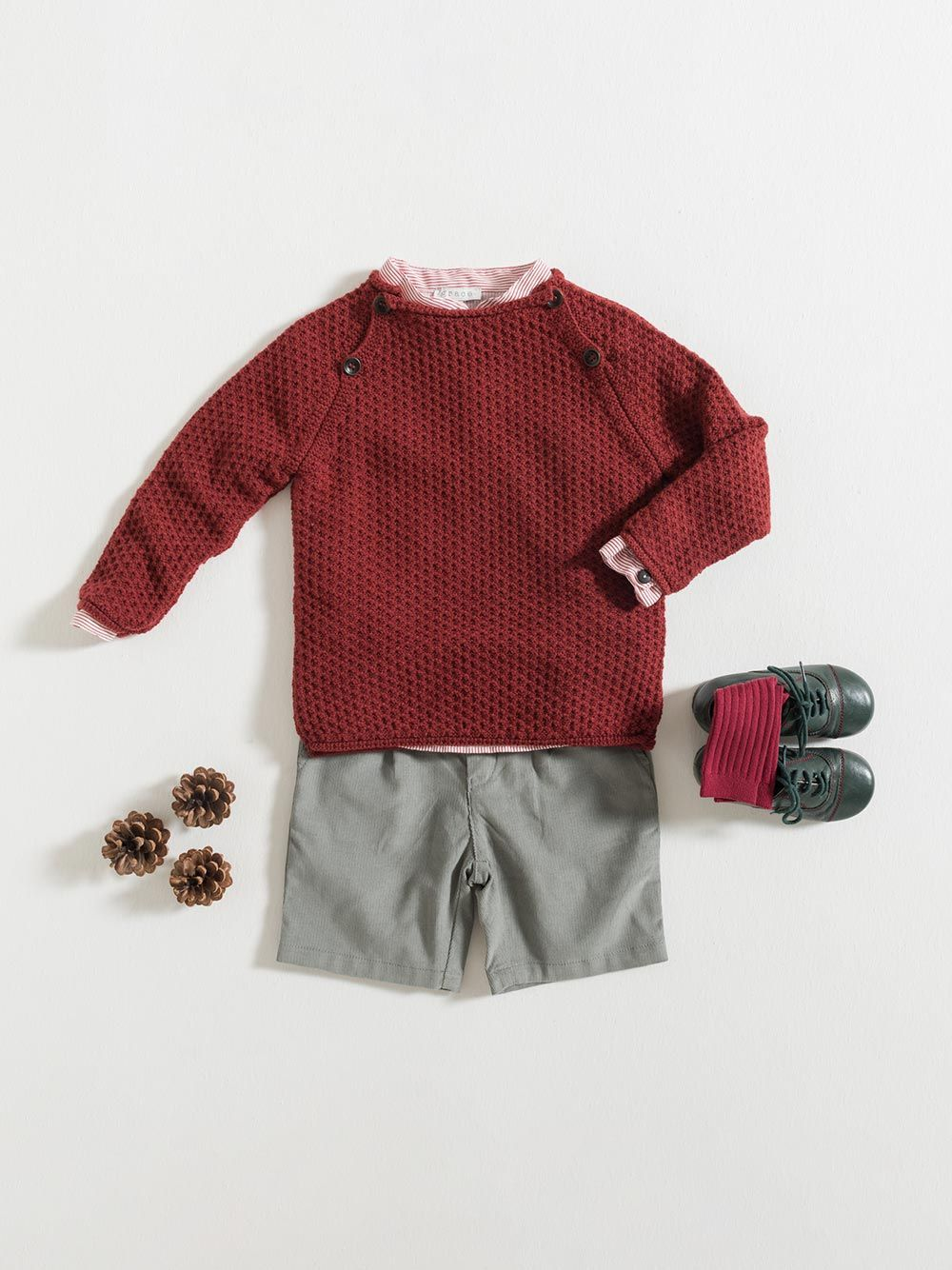 SWEATER / BURGUNDY | Grace Baby and Child