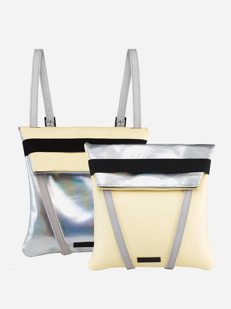 Metallic Backpack | Maria Maleta