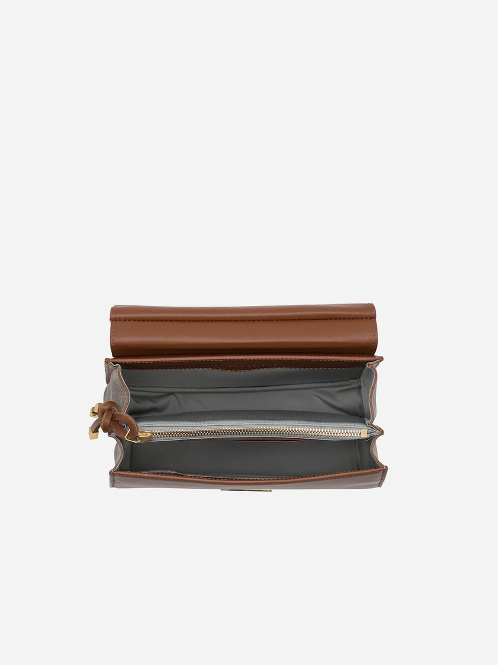 Marlene Cognac Briefcase Mini Tablet | Maison Héroïne