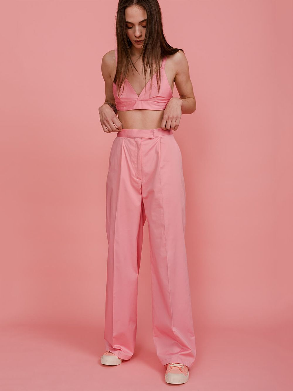 Bralette Curto Orchid Pink