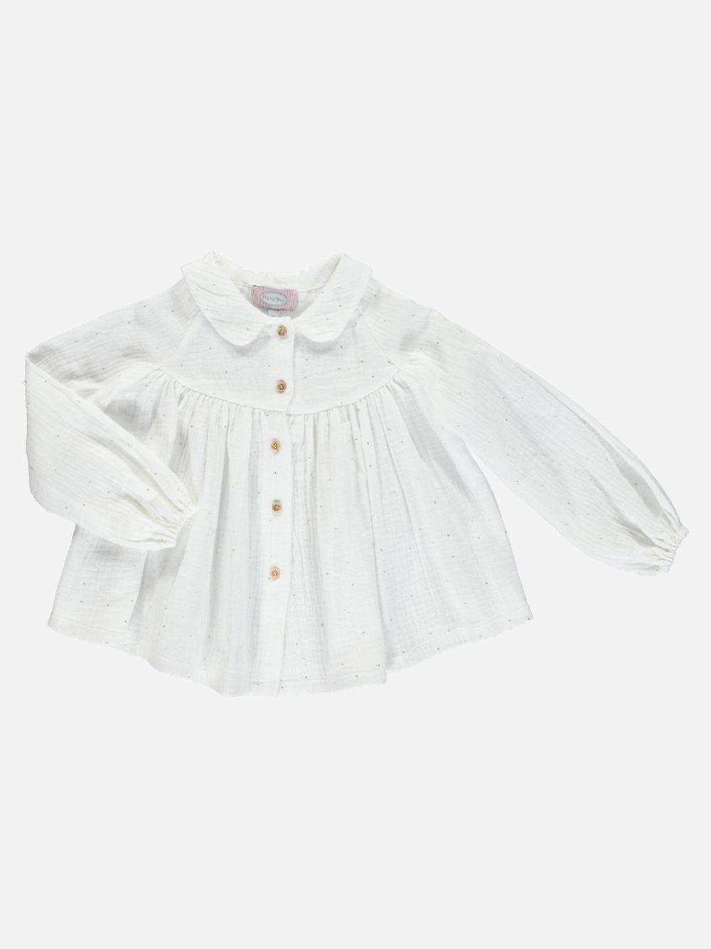 Blusa Branca Paris   Mimichic