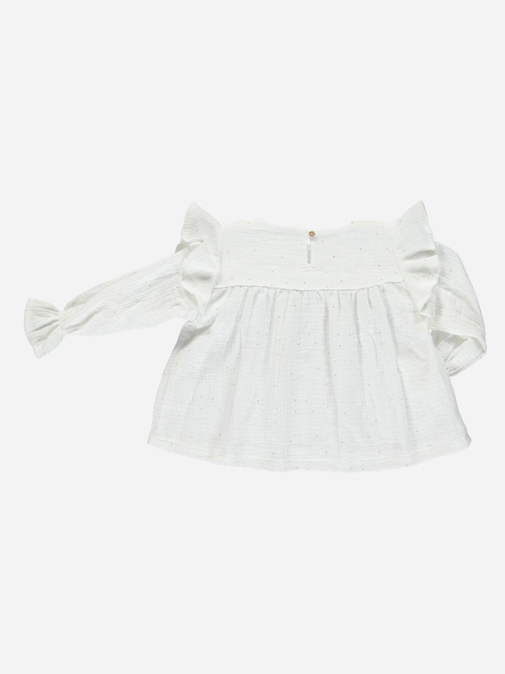 Blusa Branca Paris | Mimichic