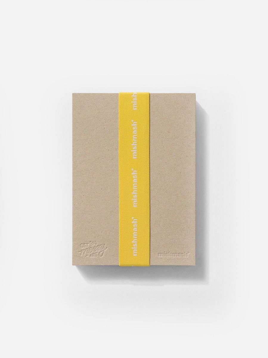 Mishmash & Get Messy Art Notebook | Mishmash