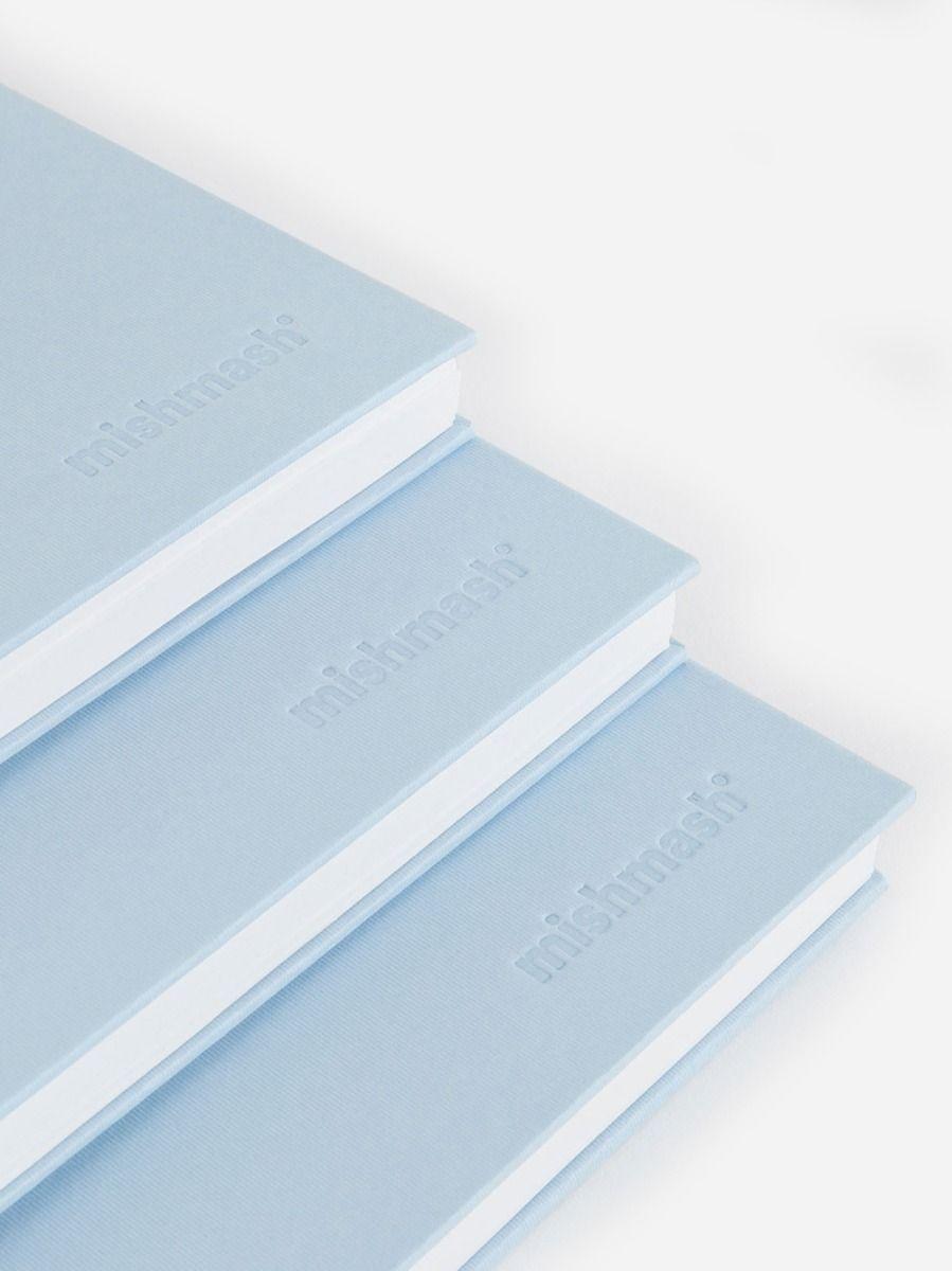 Easy Breezy Notebook Sky Blue | Mishmash