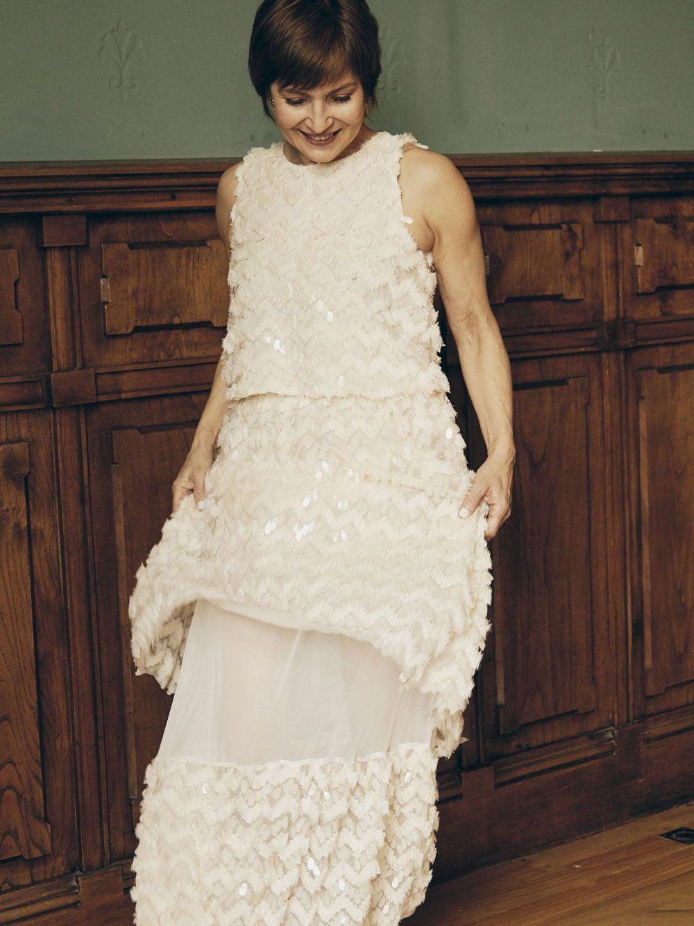 Saia Lantejoulas  Charismatic | Misses White