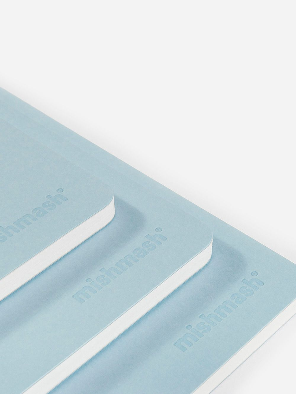 Naked Sky Blue Notebook | Mishmash