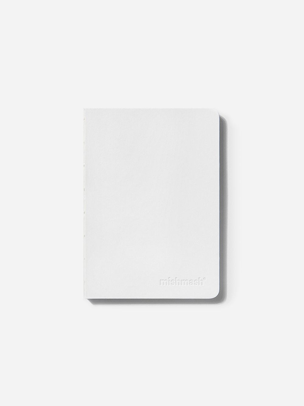 Naked White Notebook | Mishmash