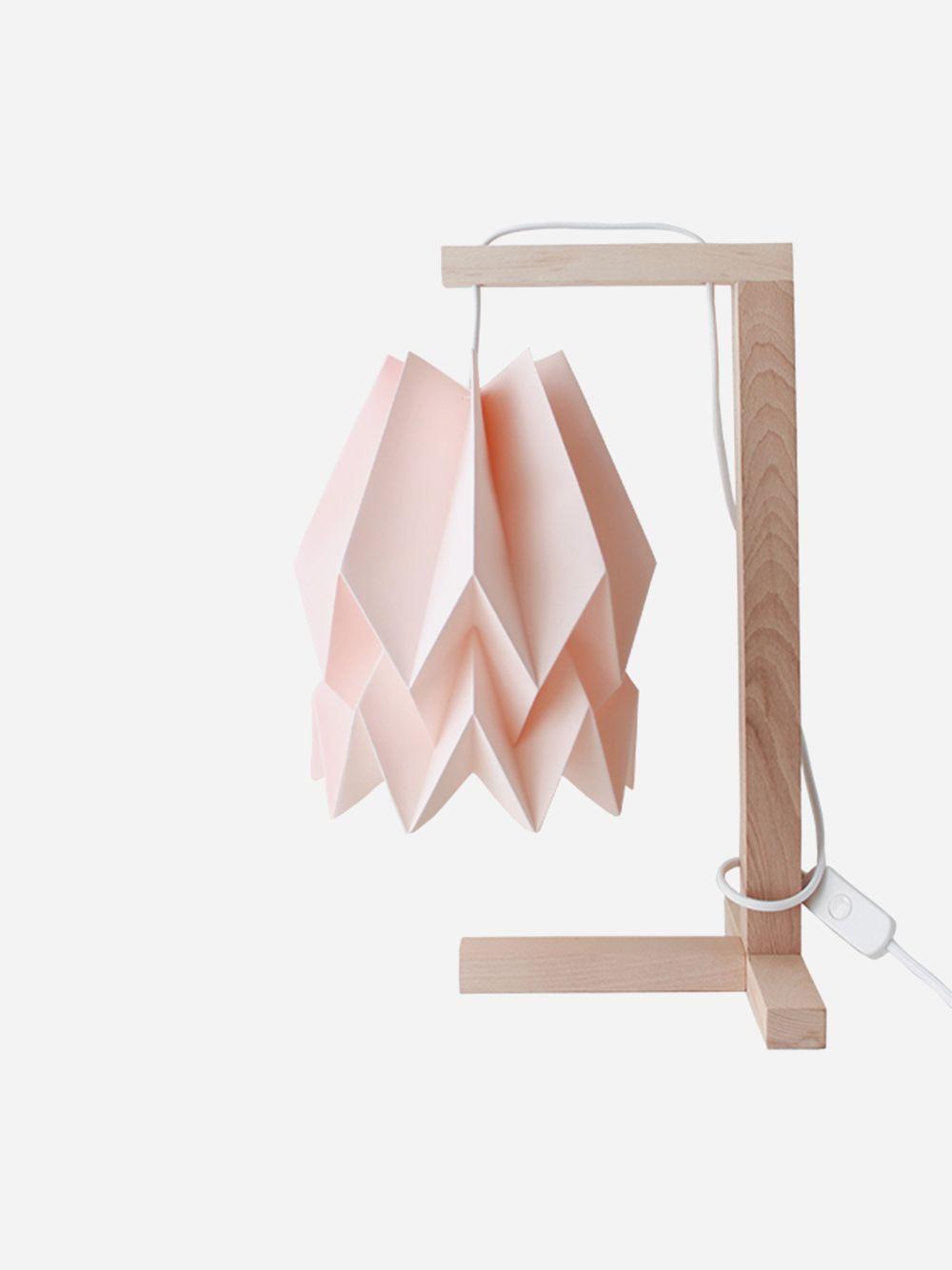 Pastel Pink Table Lamp | Orikomi