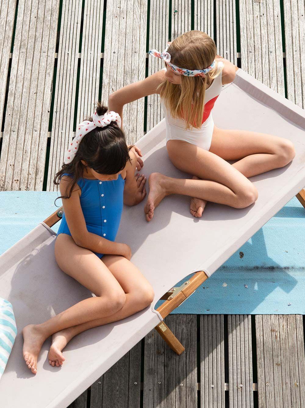 Fato de Banho Azul Simples | Piupiuchick