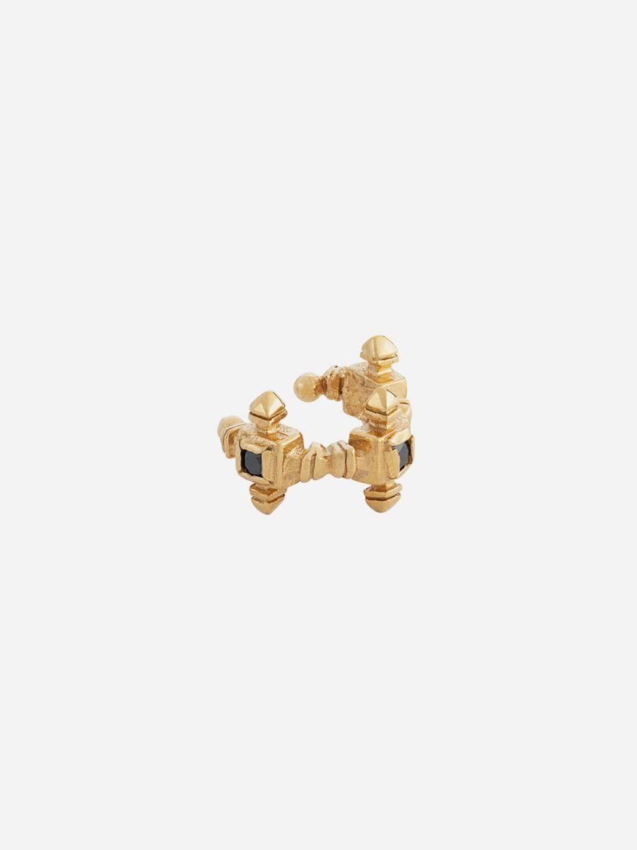Brincos Ear Cuff Dourados | Carolina Curado