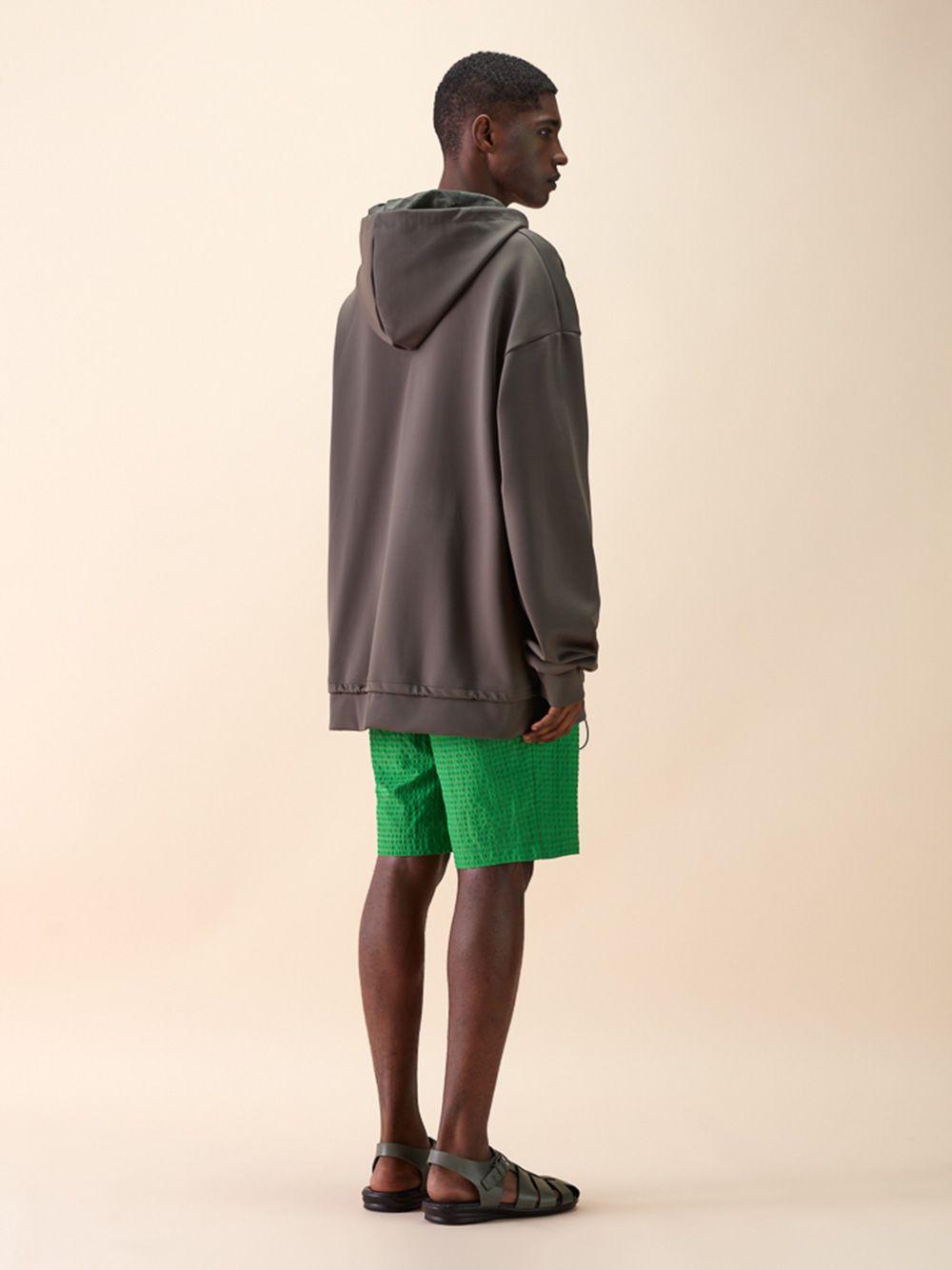 Grey Hooded Sweatshirt | Rita Sá