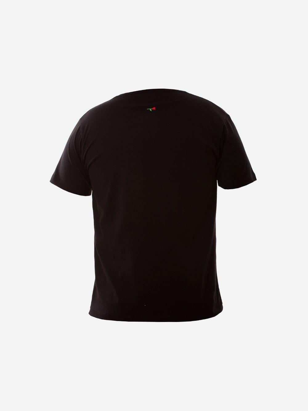 Black T-shirt Roses | Wiino