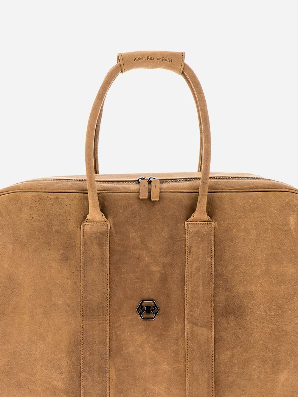Rustic Camel Weekend Bag | Rufel