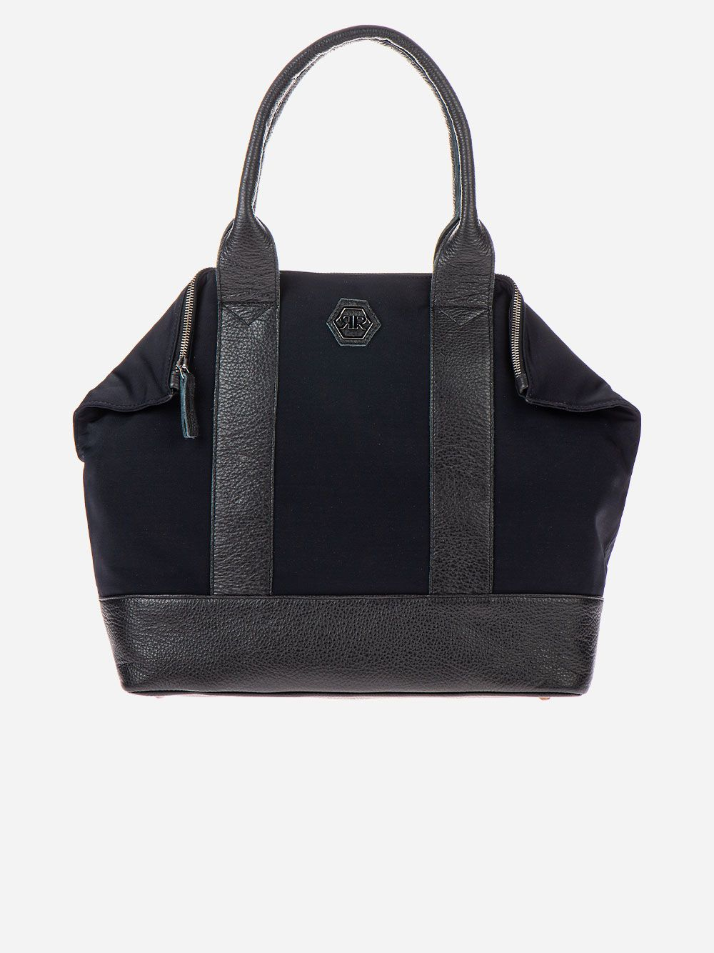 Black Nylon Shoulder Bag | Rufel
