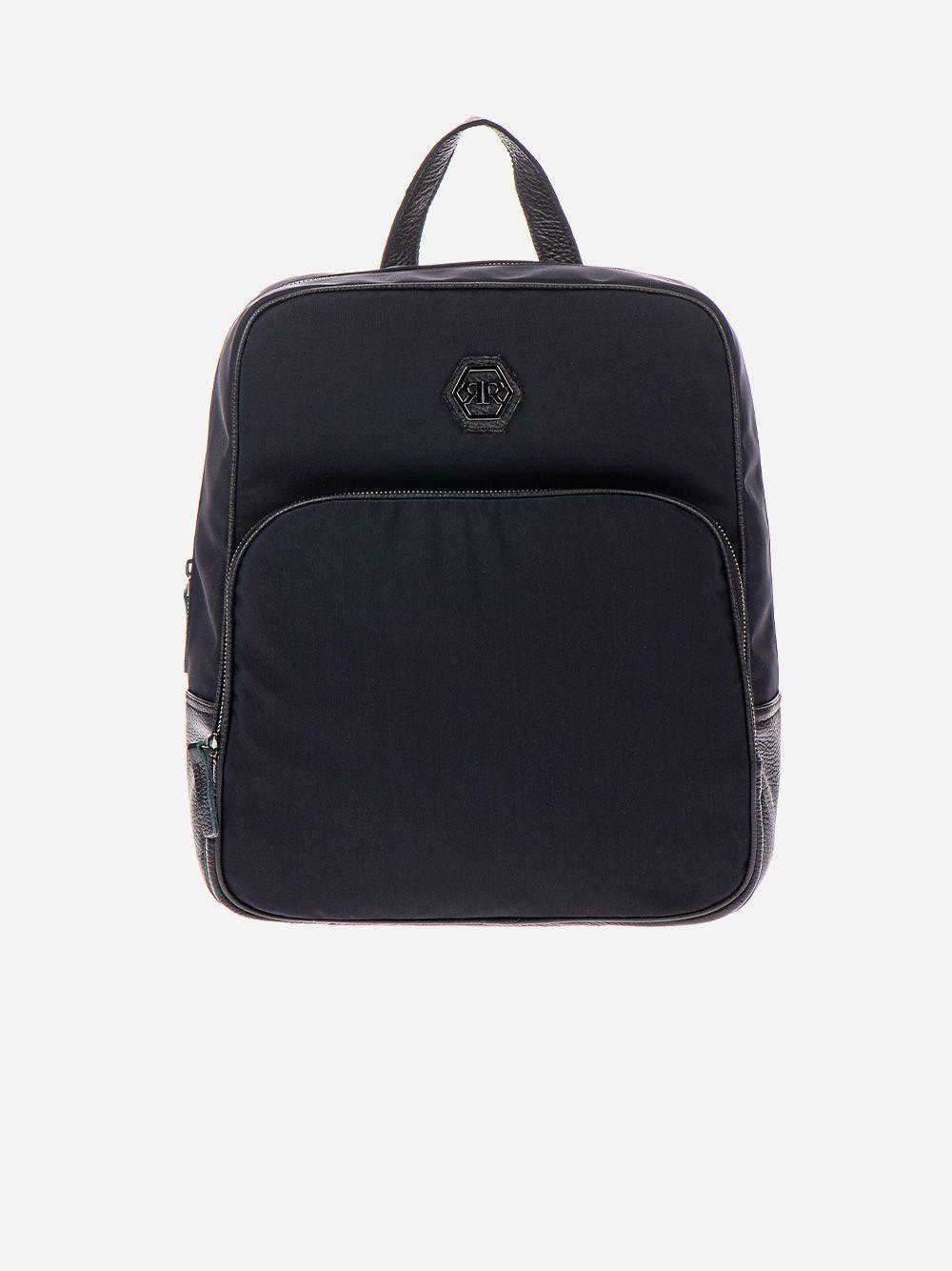 Black Nylon Backpack | Rufel