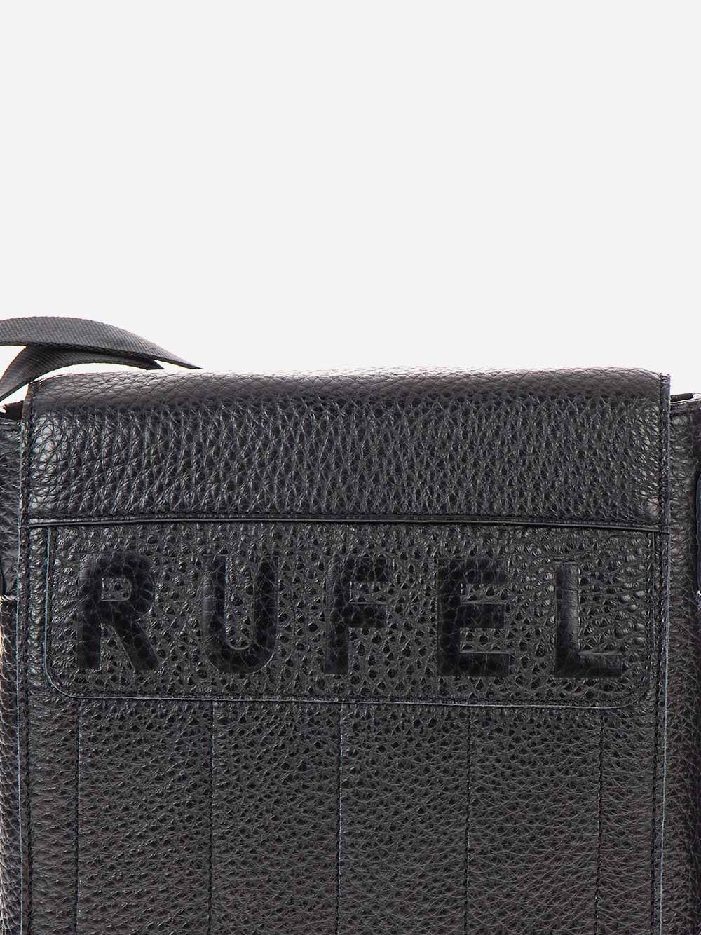 Black Squared Crossbody | Rufel