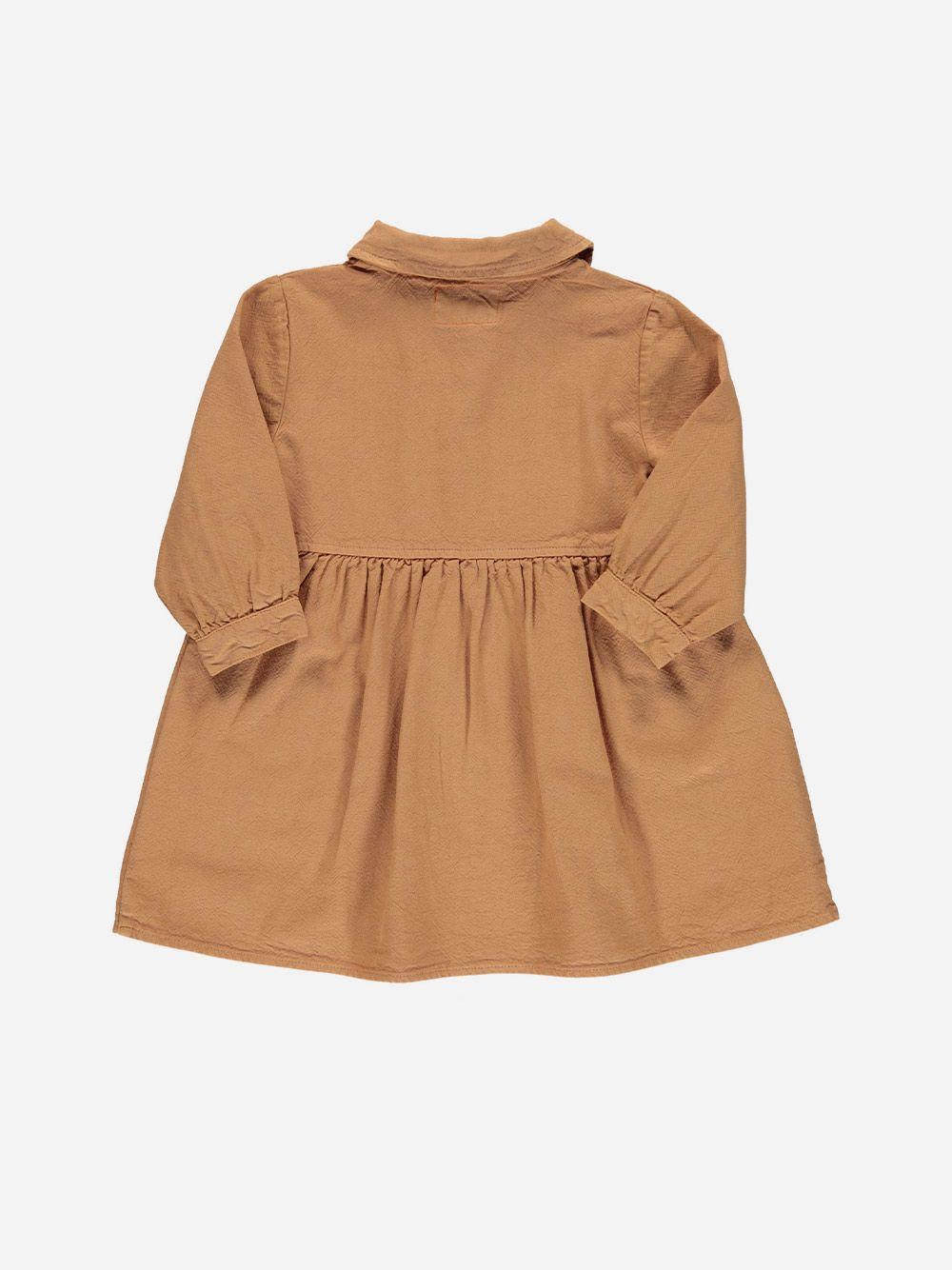 Short Longsleeve Dress Nut