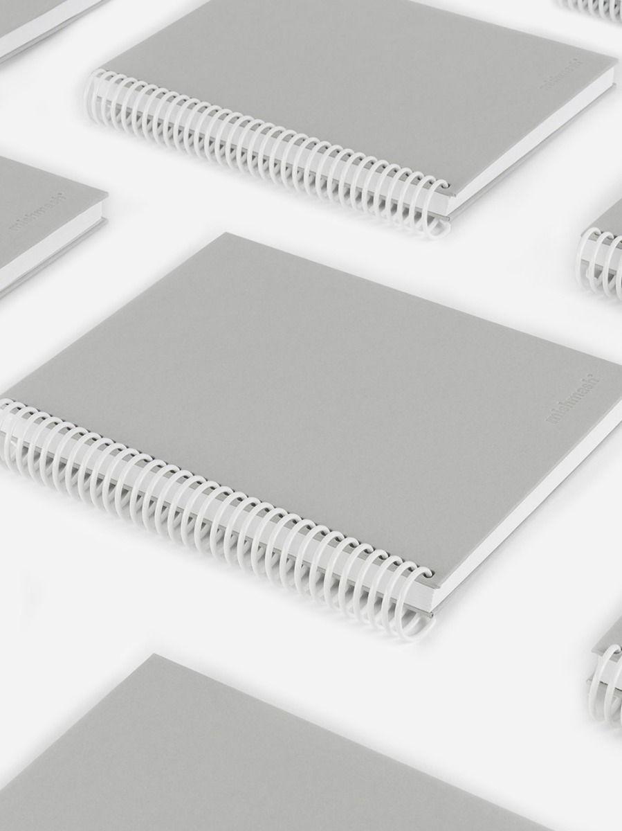 Easy Breezy Notebook Grey | Mishmash